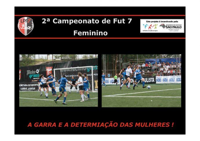 miniatura de Campeonato Fut 7 Feminino PIE 2017